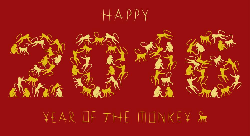 Chinese New Year 2016 – Year of the Fire Monkey!